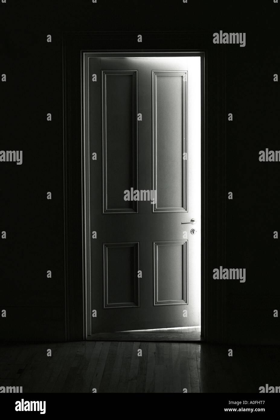 Door ajar London England & Door ajar London England Stock Photo: 5703750 - Alamy