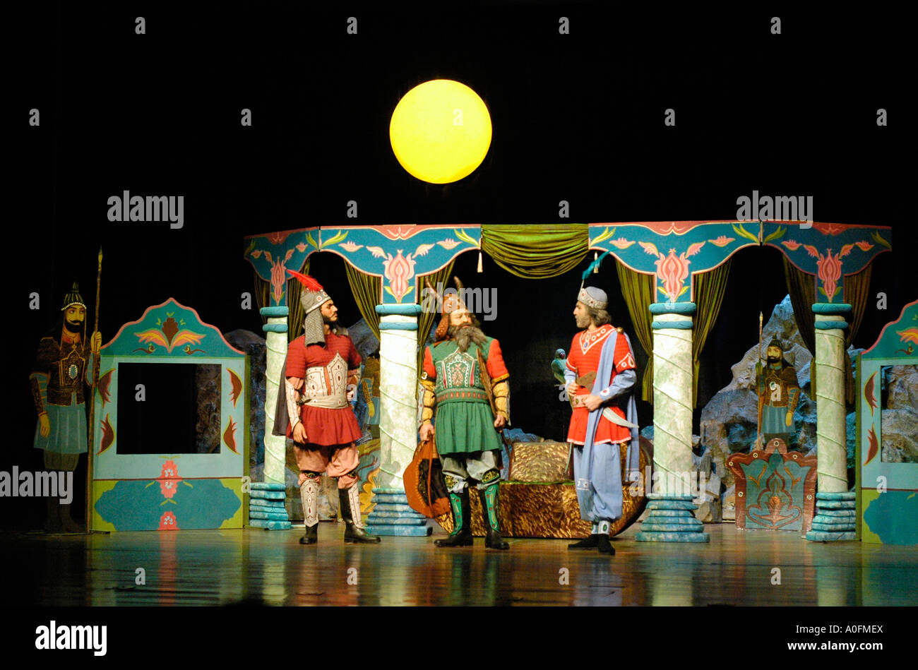 Non Muslim Perspective On The Revolution Of Imam Hussain: A Traditional Persian Play At A Theater In Northern Tehran