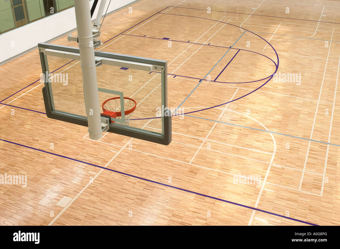 Basketball Court Aerial View High Resolution Stock Photography And Images Alamy
