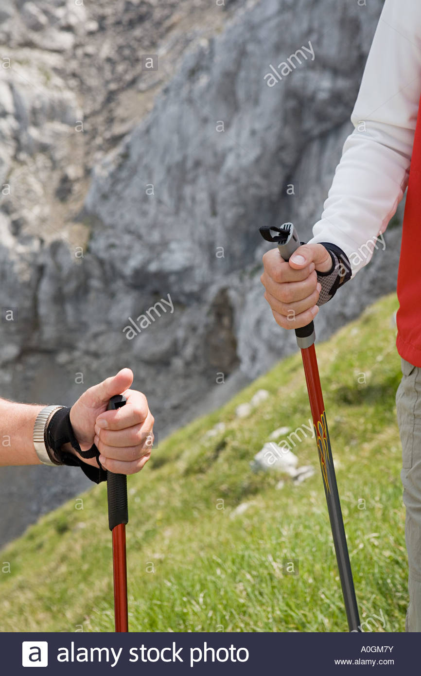 Hikers - Stock Image