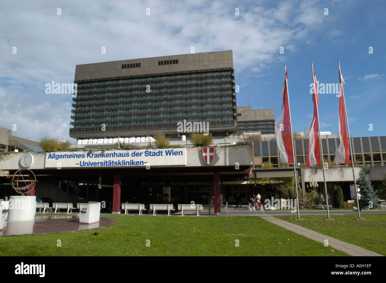 general hospital, university hospital in vienna Stock Photo: 1839598