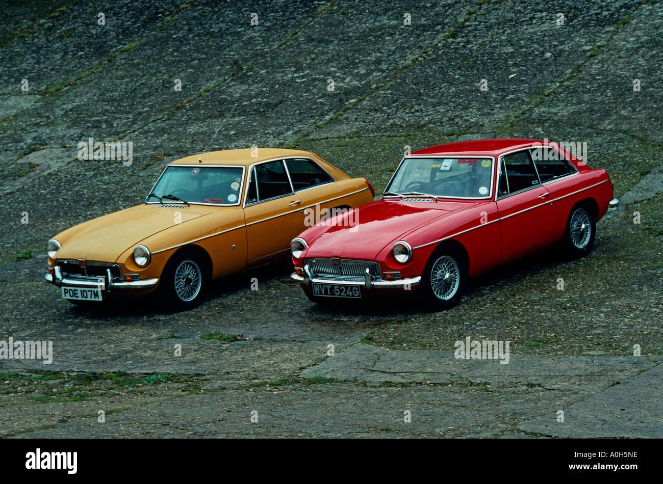 MG BGT. Introduced 1965 - Stock Image