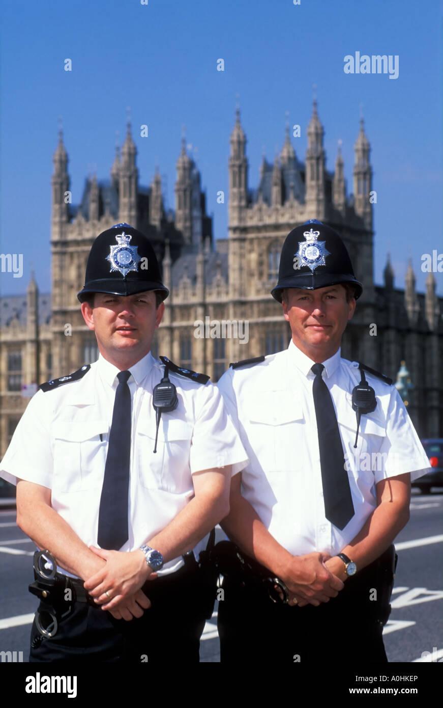 Westminster Bobbies. London, England Stock Photo: 10000989 ...