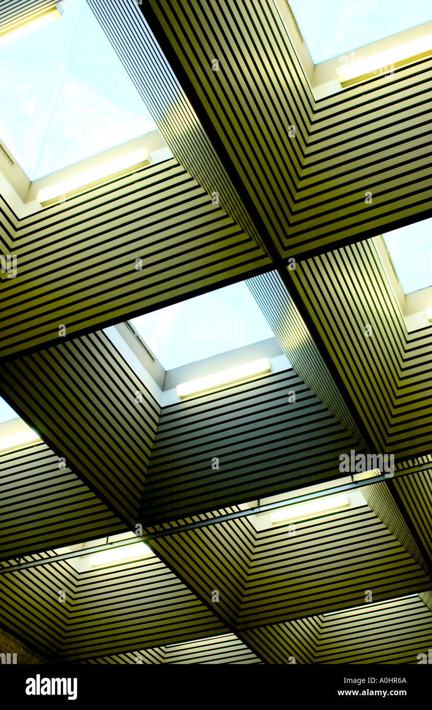 Abstract Skylight windows PHILLIP ROBERTS - Stock Image