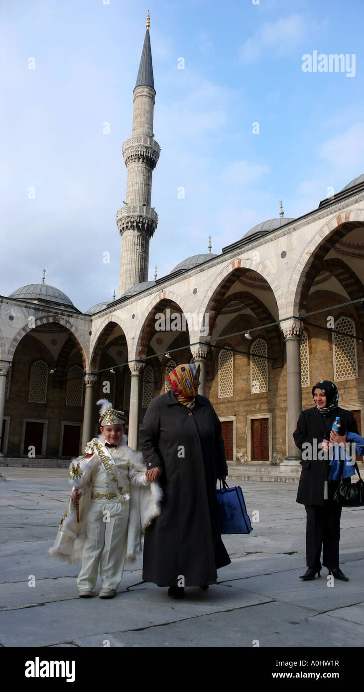 boy circumcision ceremony islam islamic turkey istanbul