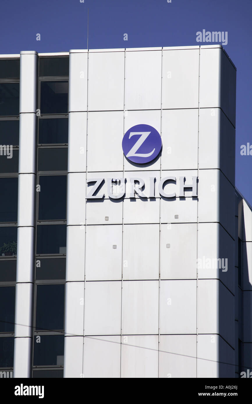 Zurich insurance company Munich office - Stock Image