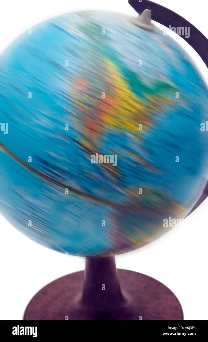 globe spinning stock photo 1844211 alamy