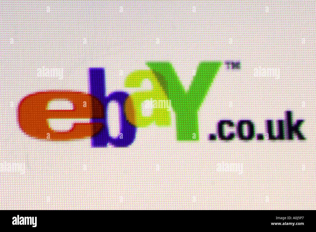 Ebay Co Uk Ebay Logo Brand Design Graphic Stock Photo Alamy