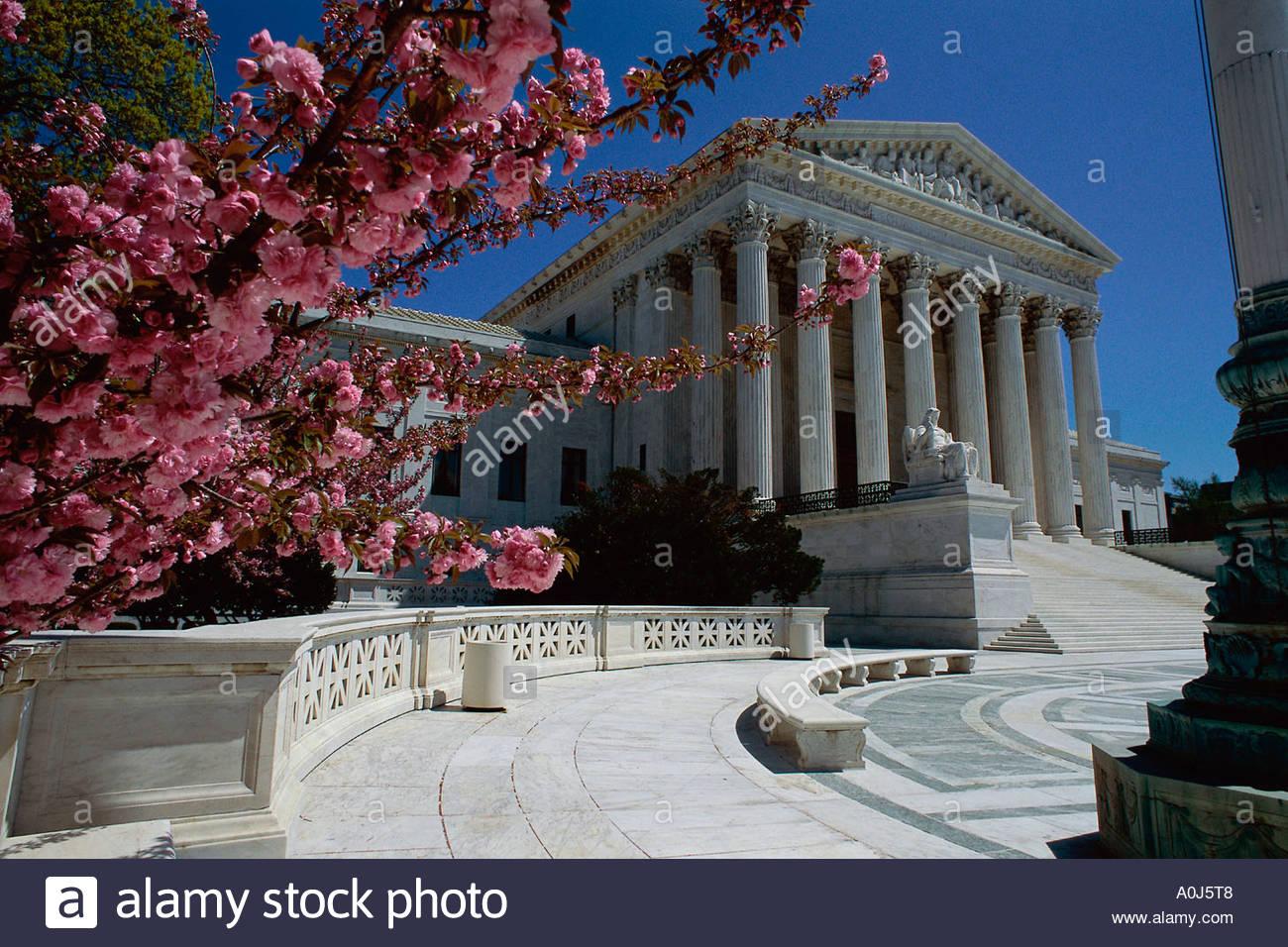 U.S. Supreme Court  Washington, D.C.  USA - Stock Image
