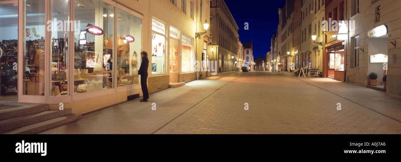 City of Wismar - Stock Image