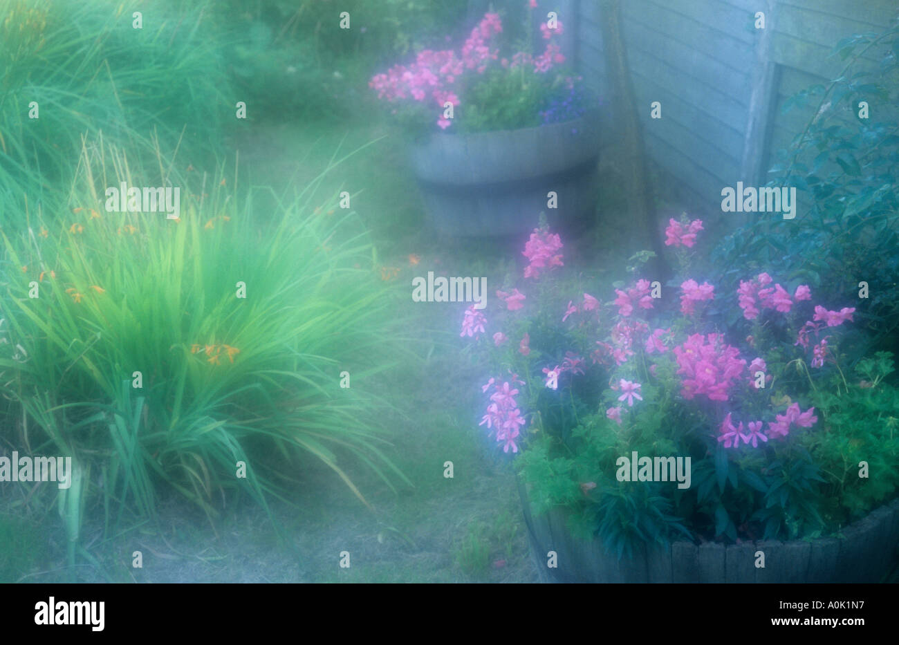 Cozy Garden Corner Stock Photos & Cozy Garden Corner Stock Images ...