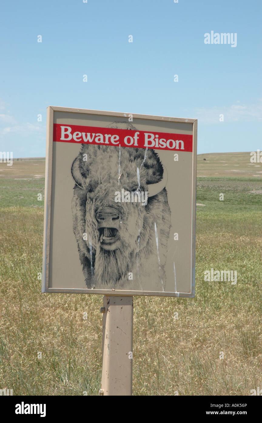 P31 085 Badlands National Park Near Roberts Prairie Dog Town Stock
