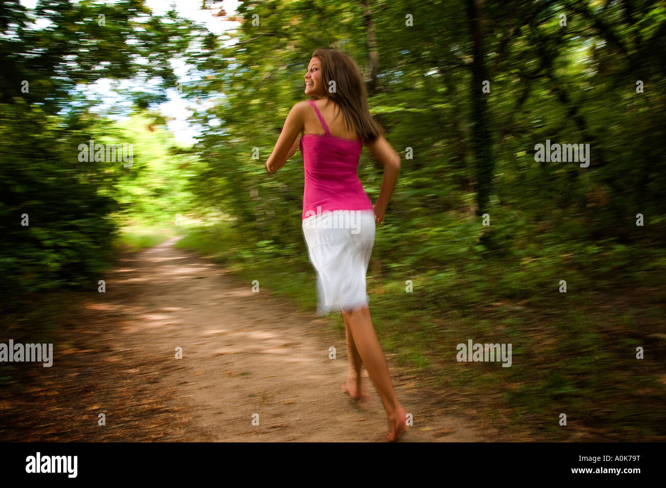Dating a girl who runs away