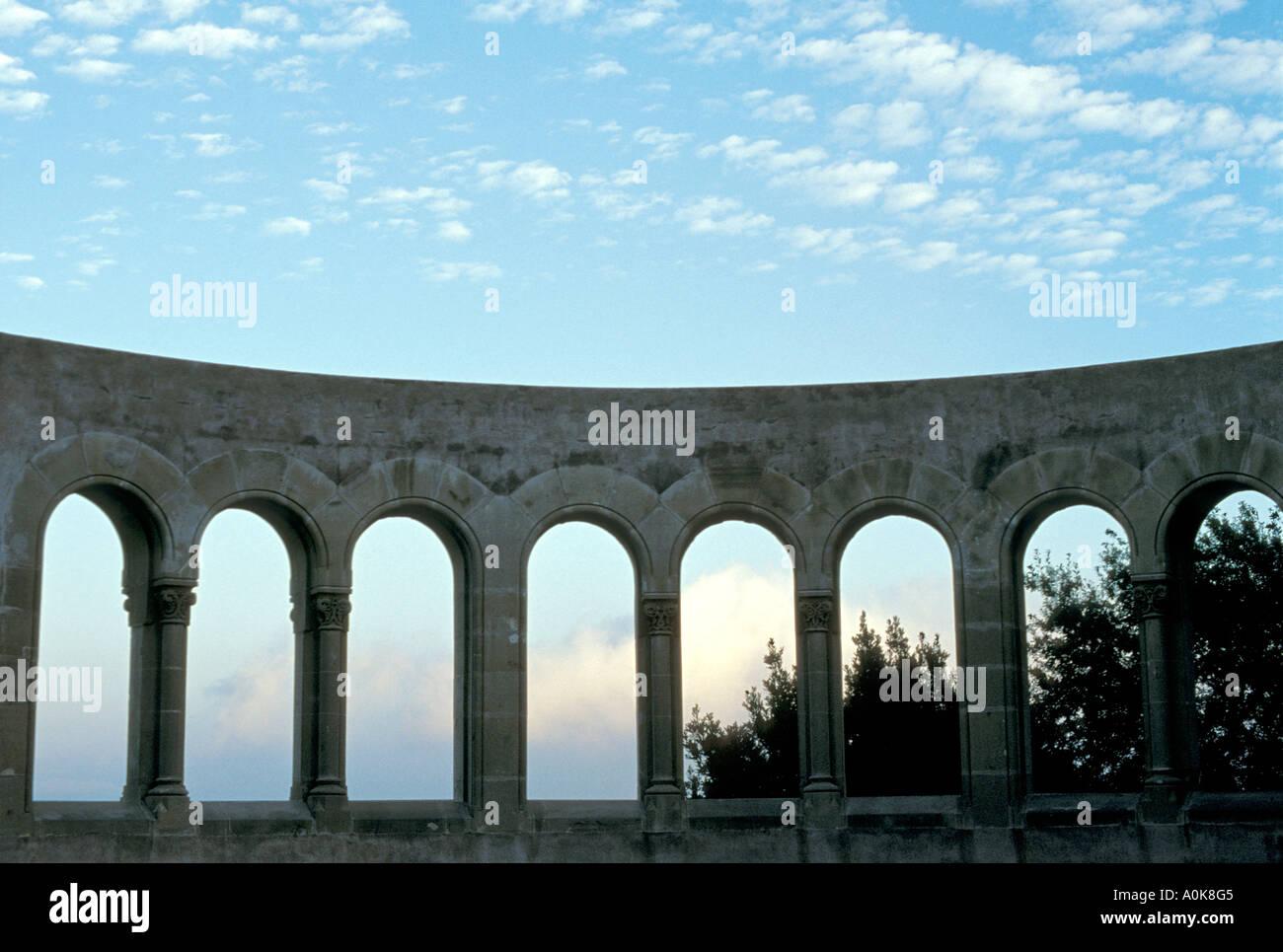 Roman style arches, El Valle De Los Caídos (Valley of the Fallen ...