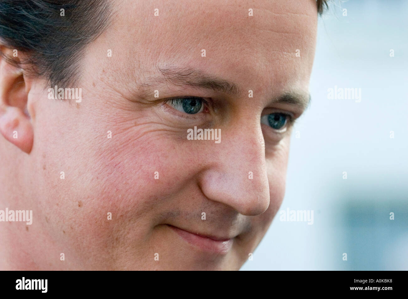 UK Conservative Party leader David Cameron MP - Stock Image