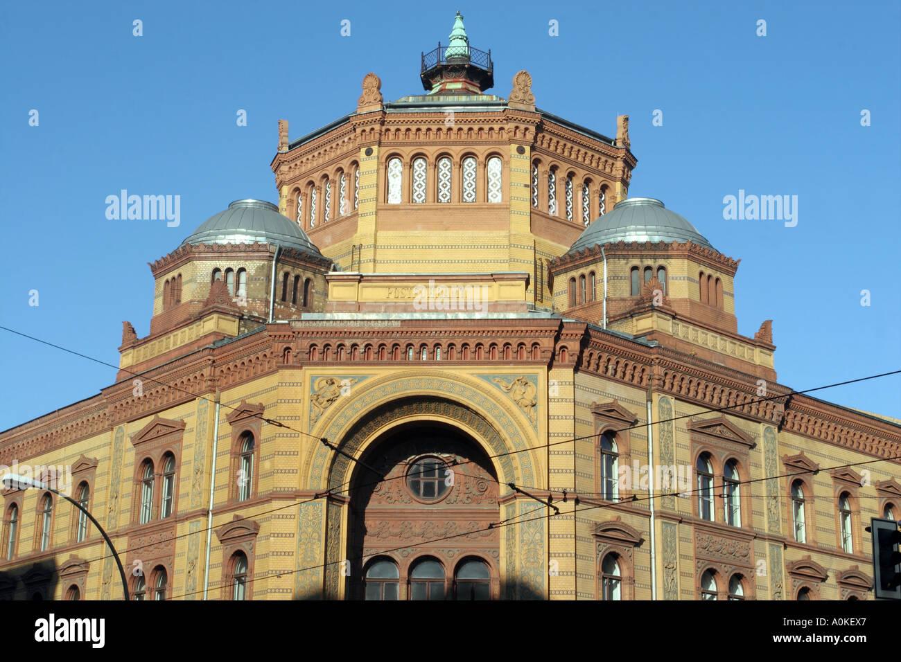 Postfuhramt - Postal Stagecoach Building, Berlin, Germany - Stock Image