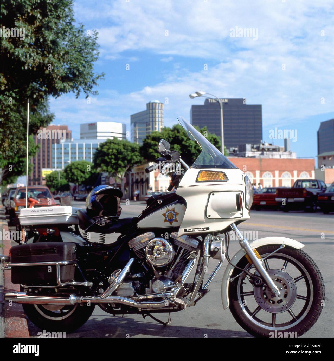 "Los Angeles ""California Highway Patrol"" Harley Davidson"