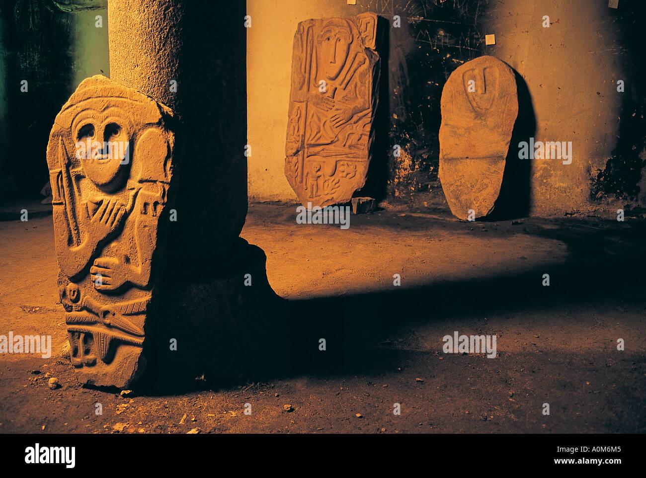 cdca9e718d Kimmerian steles dates B.C. 6th century discovered in Hakkari Turkey. -  Stock Image