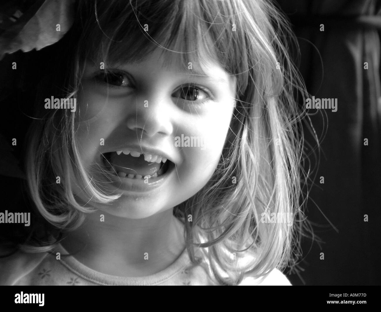 young girl - Stock Image