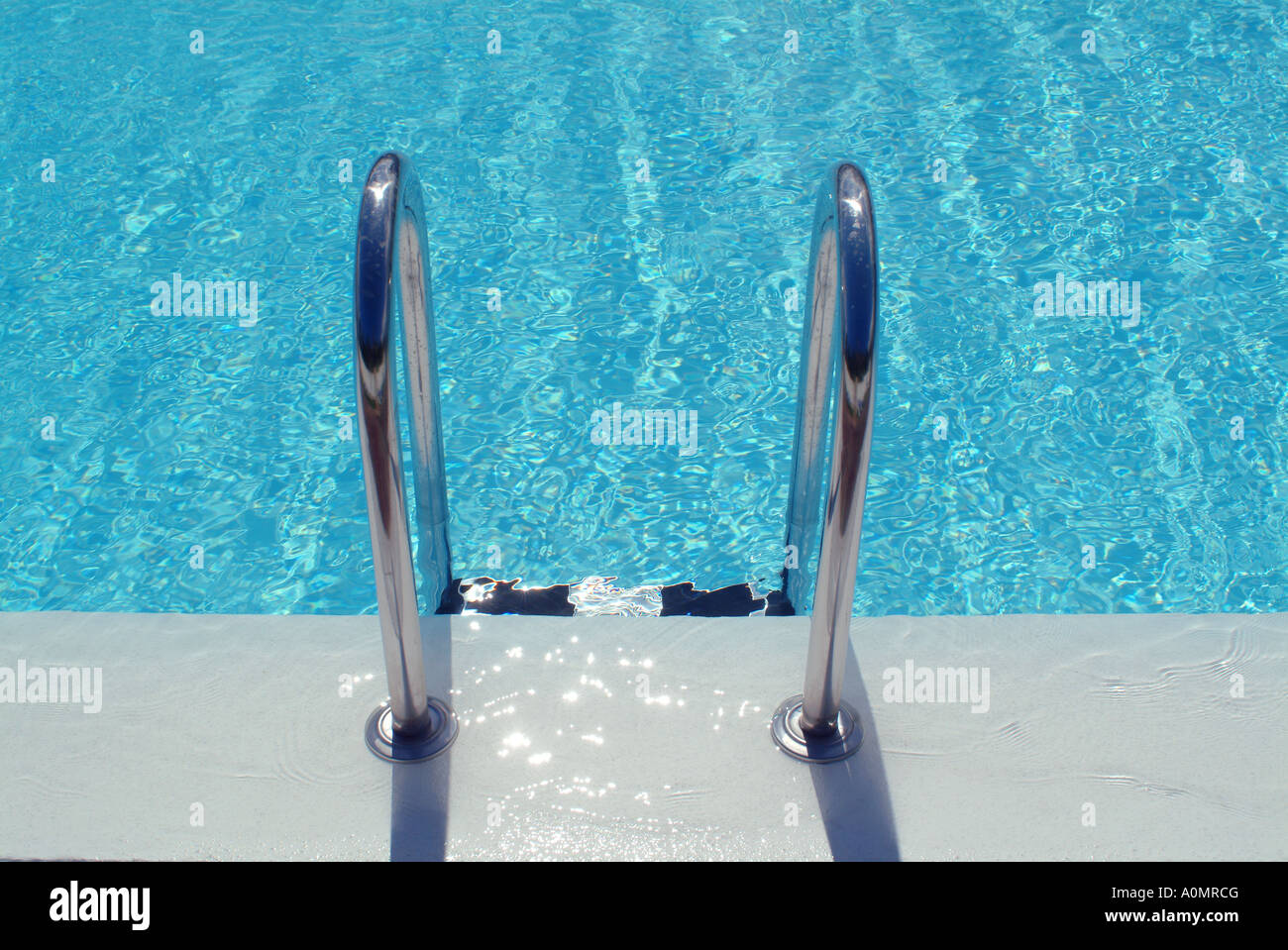 swimming pool Schwimmbecken - Stock Image
