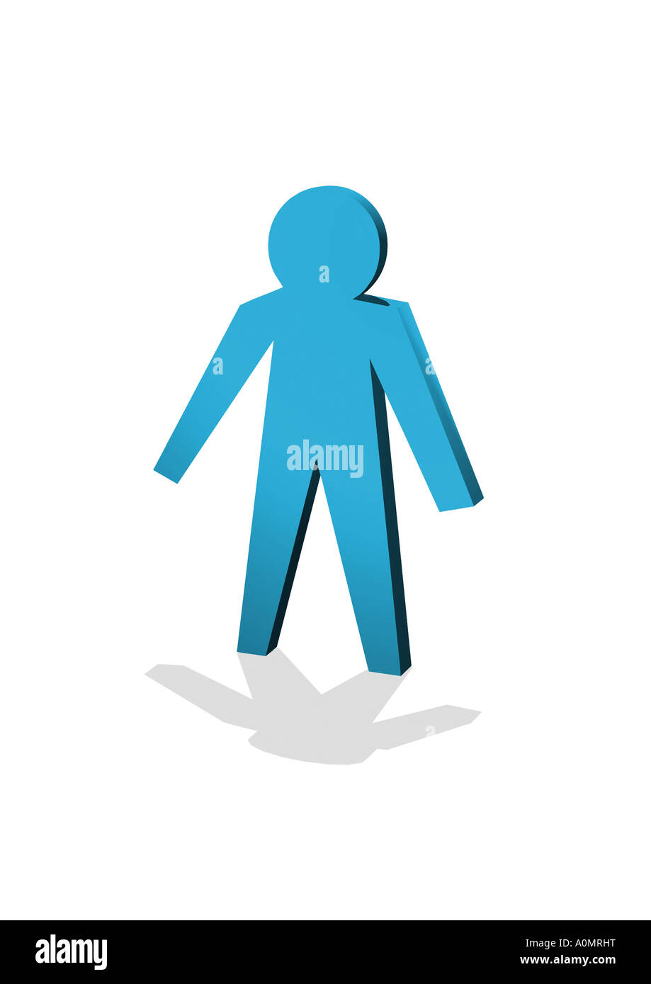 single figure Figur einzeln - Stock Image