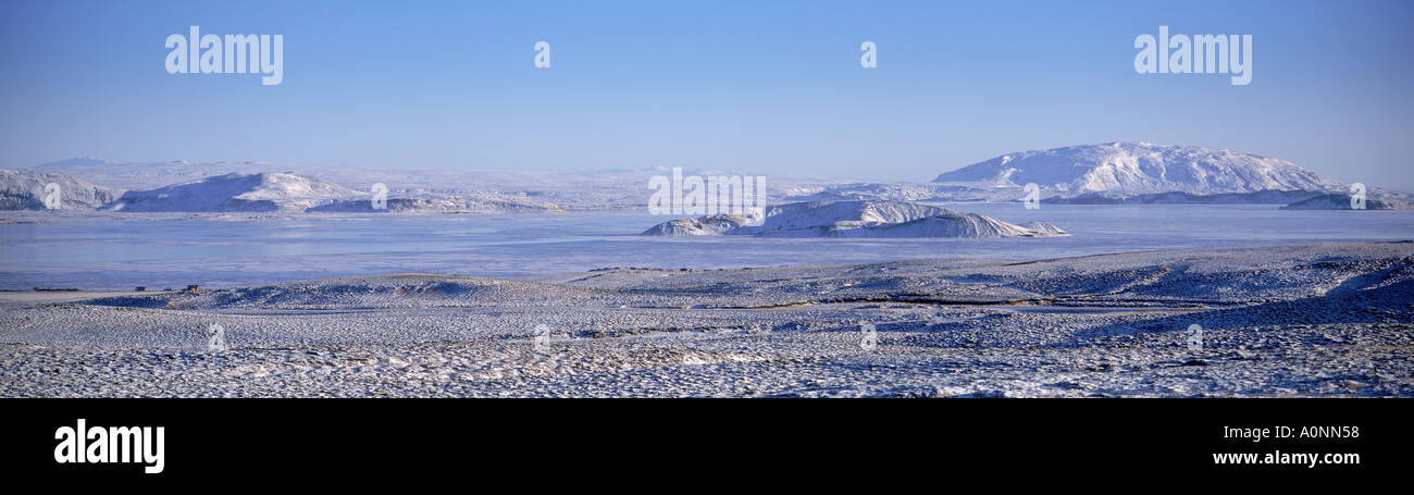 Thingvellir National Park Iceland - Stock Image