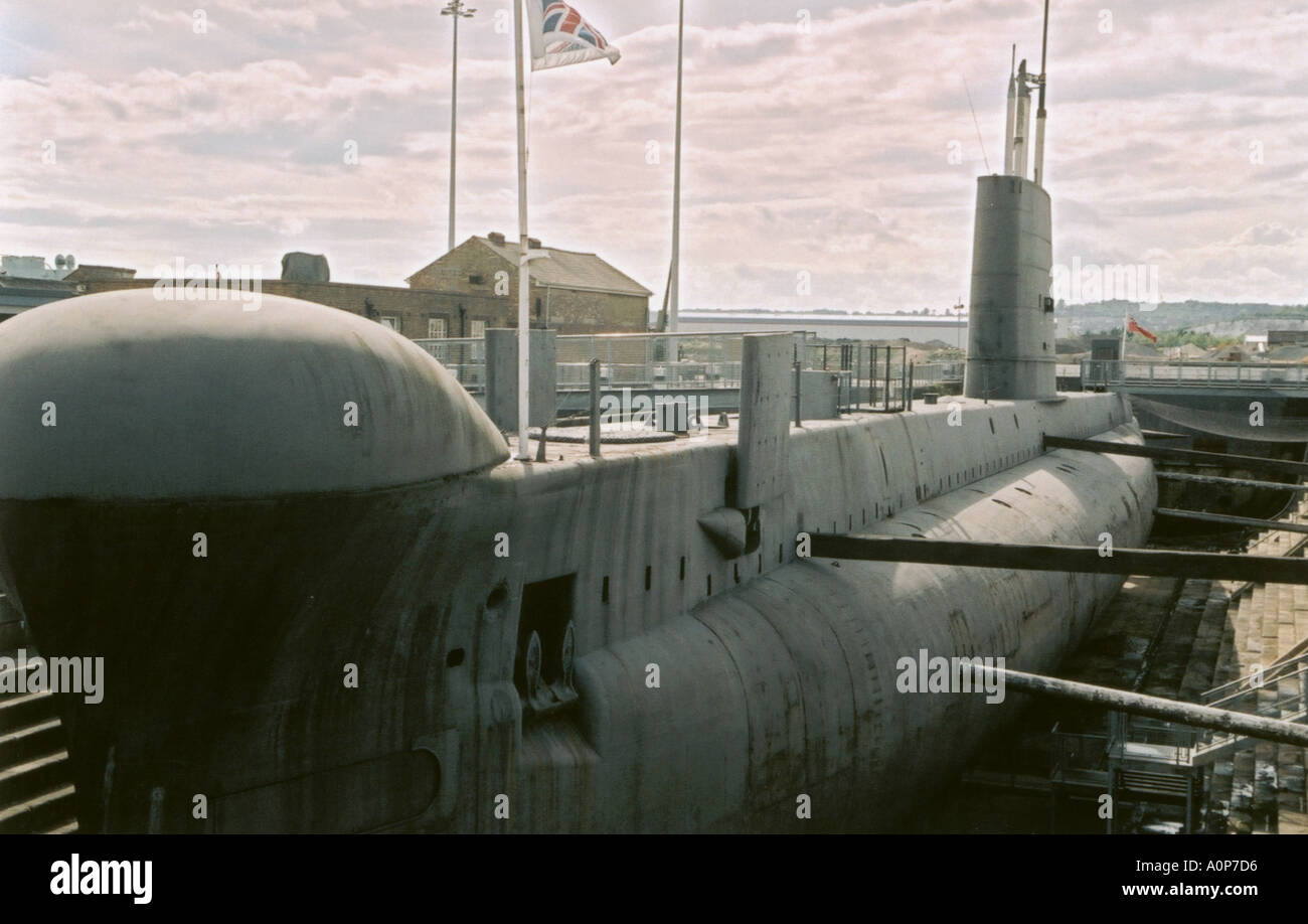 HM Submarine Ocelot - Stock Image