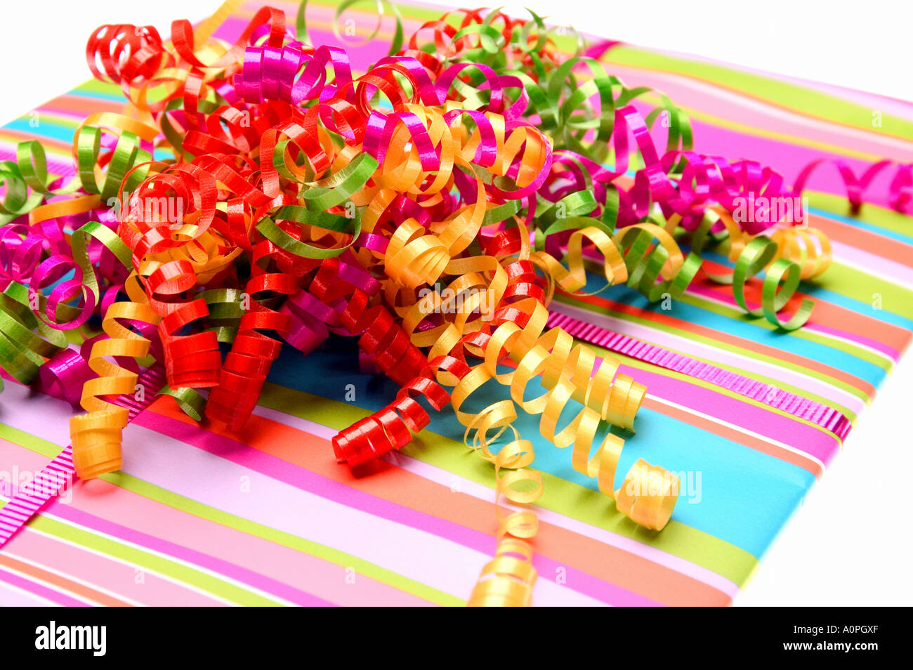 Wrapped Present - Stock Image