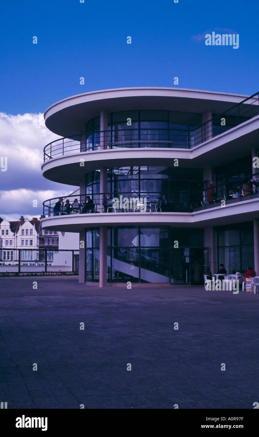 The De la Warr Pavilion Bexhill East Sussex - Stock Image