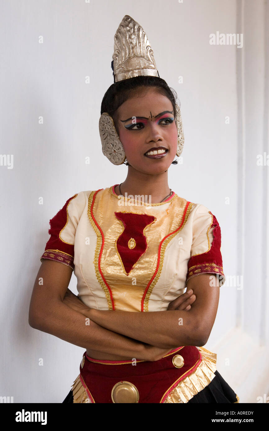 Kandyan Dance considered the national dance of Sri Lanka Kandy Hill Country Sri Lanka Asia - Stock Image