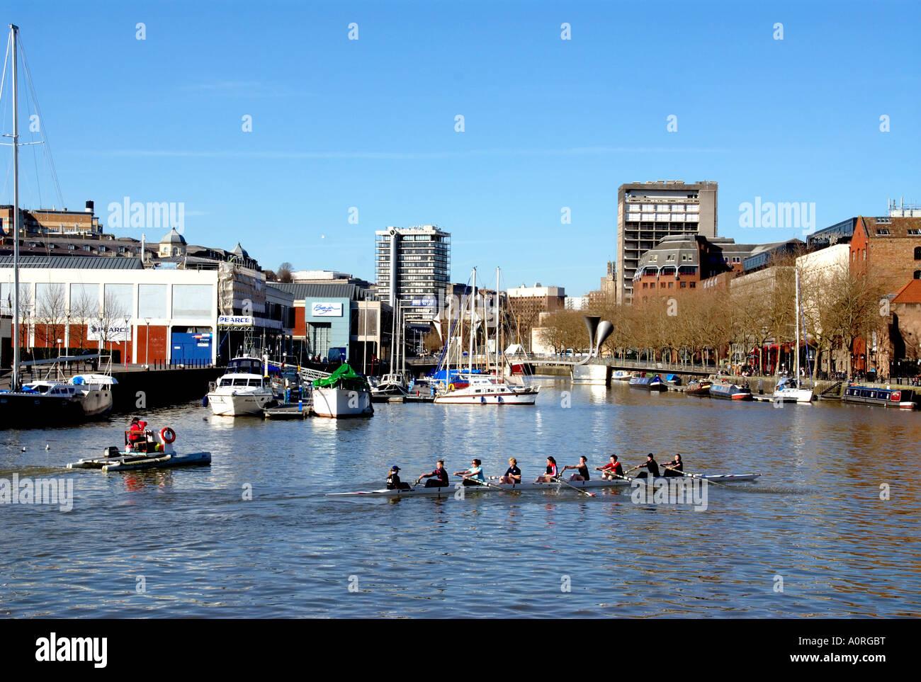 Docks Bristol England United Kingdom Europe - Stock Image