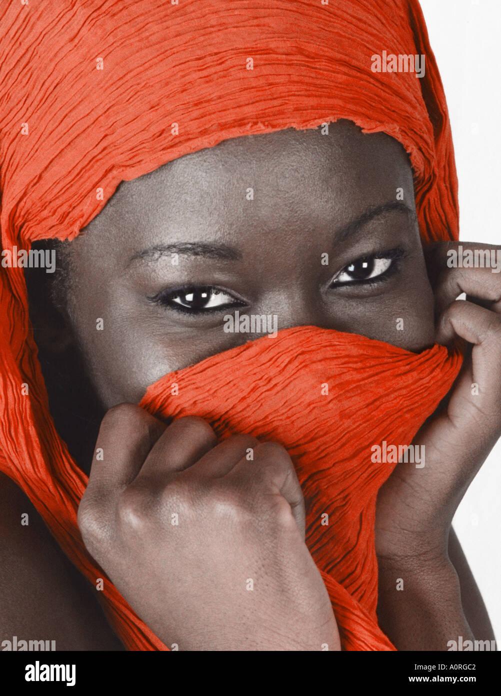 Shy black girl — img 5
