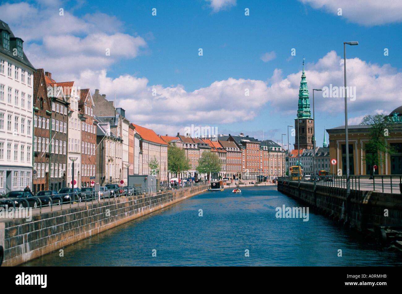 Frederiksholms canal / Frederiksholms-Kanal - Stock Image