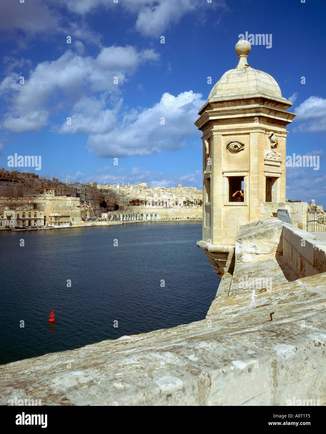 Fort St. Michael / Valletta - Stock Image