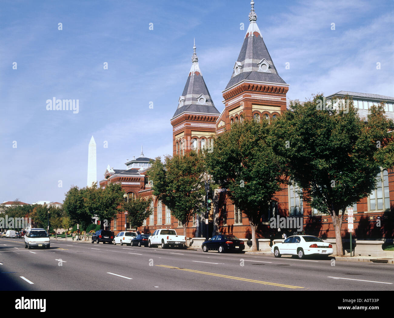 Arts and Industries Building - Stock Image