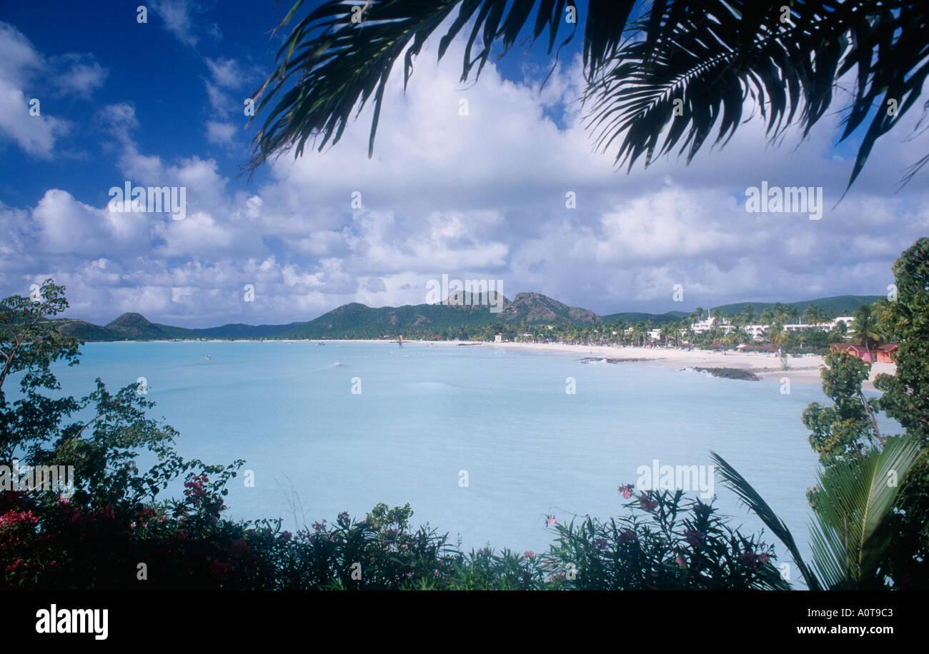 WEST INDIES Antigua Jolly Beach - Stock Image