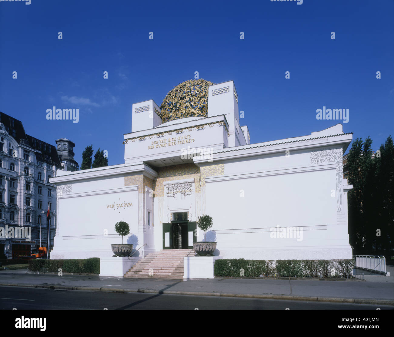 Secession World Heritage - Stock Image