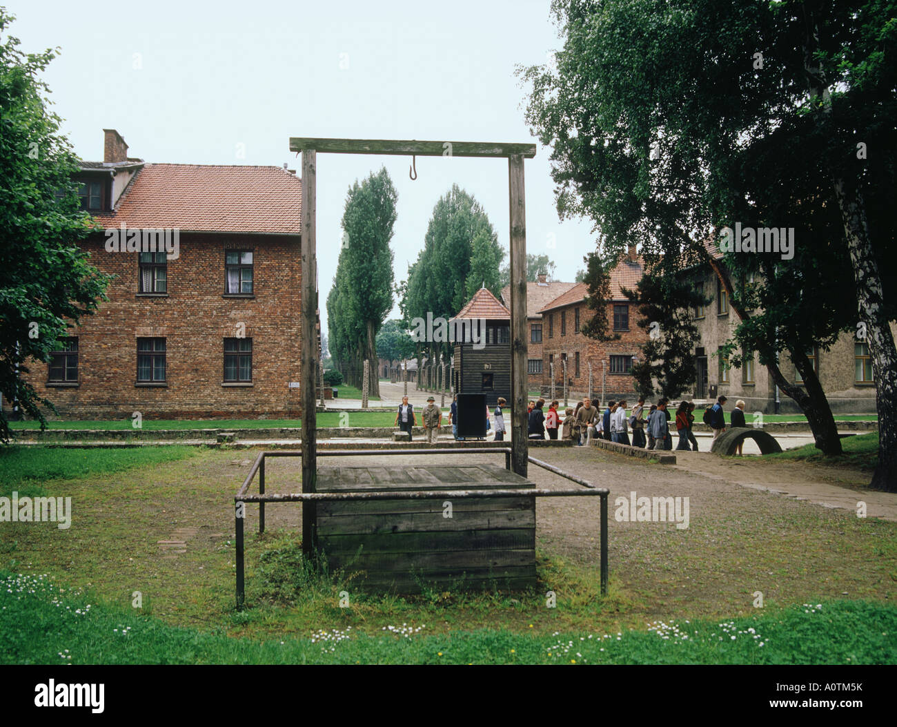 Auschwitz Concentration Camp World Heritage - Stock Image