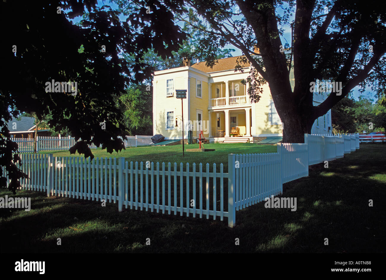 Bishop Hill Colony bed and Breakfast - Stock Image