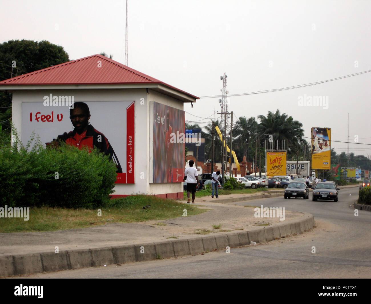 Lagos, Nigeria - Stock Image