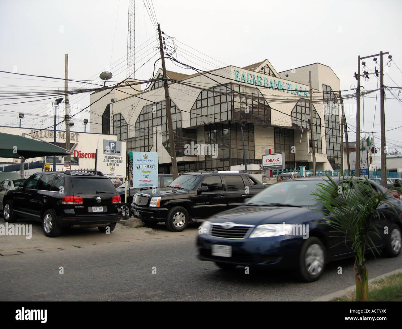 Lagos, Nigeria - Bank - Stock Image