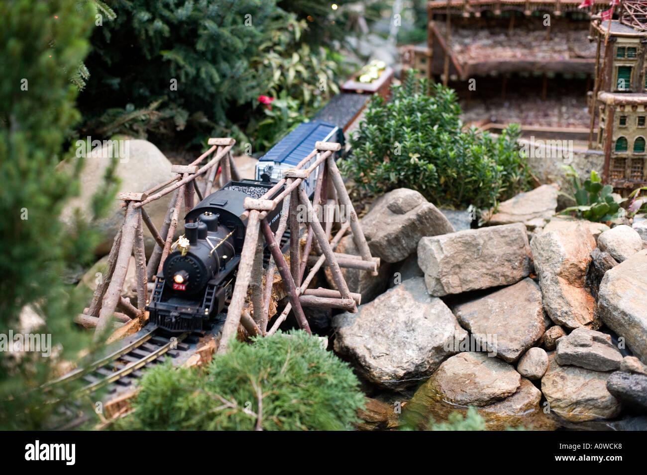 NY Botanical Gardens Annual Christmas Train Show