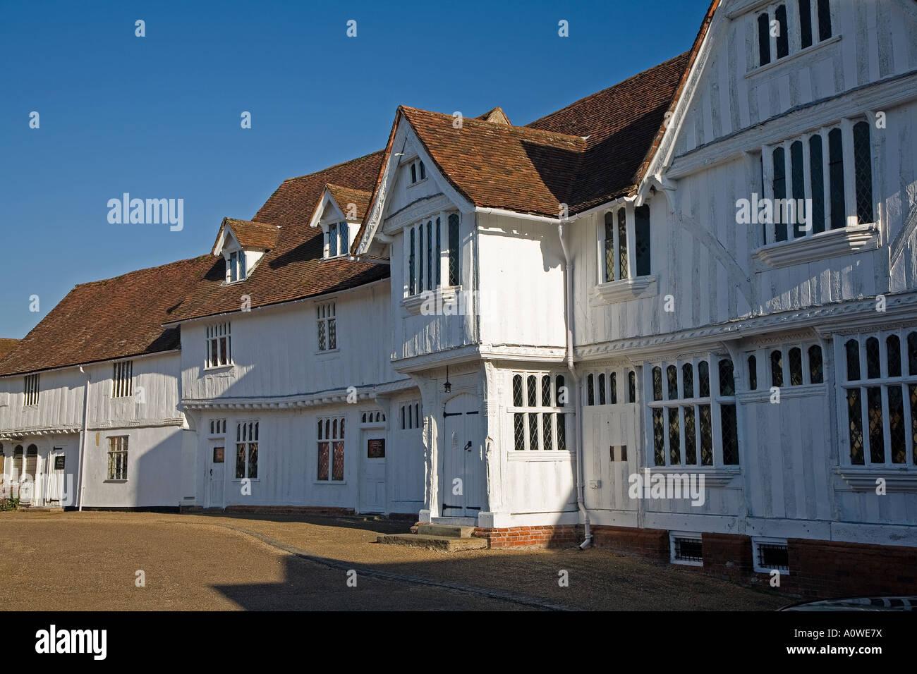 Guildhall, Lavenham, Suffolk. - Stock Image