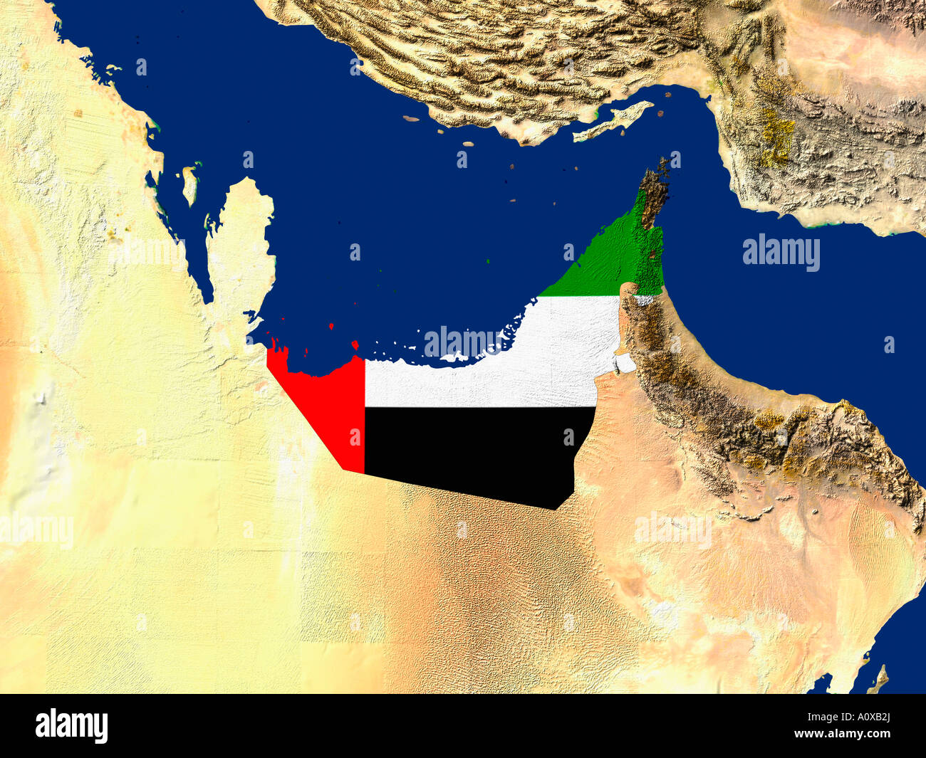 Satellite Map Middle East Earth Stock Photos Satellite Map Middle