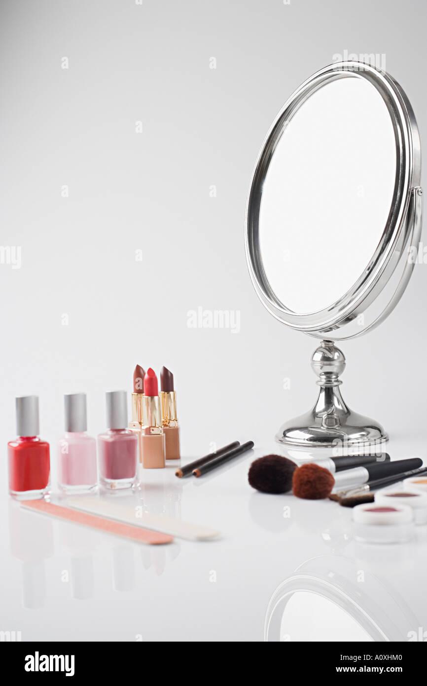 Beauty items - Stock Image