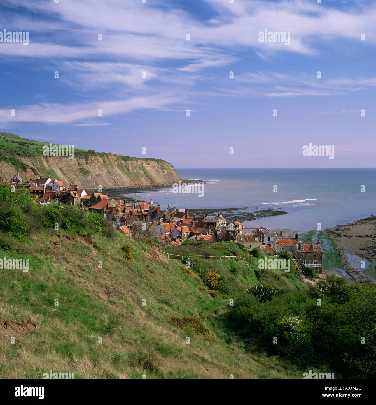 Robin Hood s Bay Yorkshire England United Kingdom Europe - Stock Image