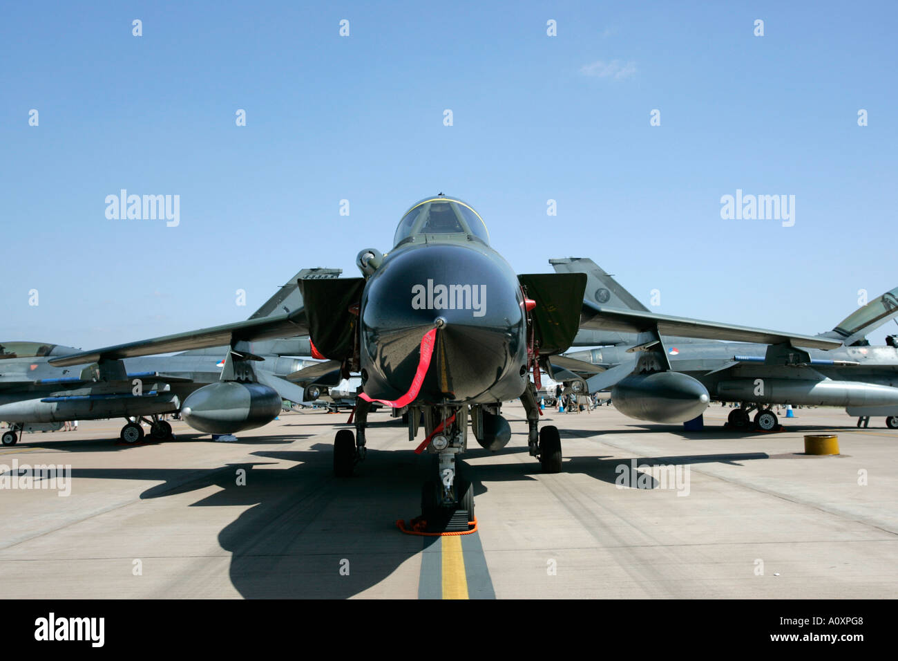 German Air Force Luftwaffe NATO Panavia Tornado IDS RIAT 2005 RAF Fairford Gloucestershire England UK - Stock Image