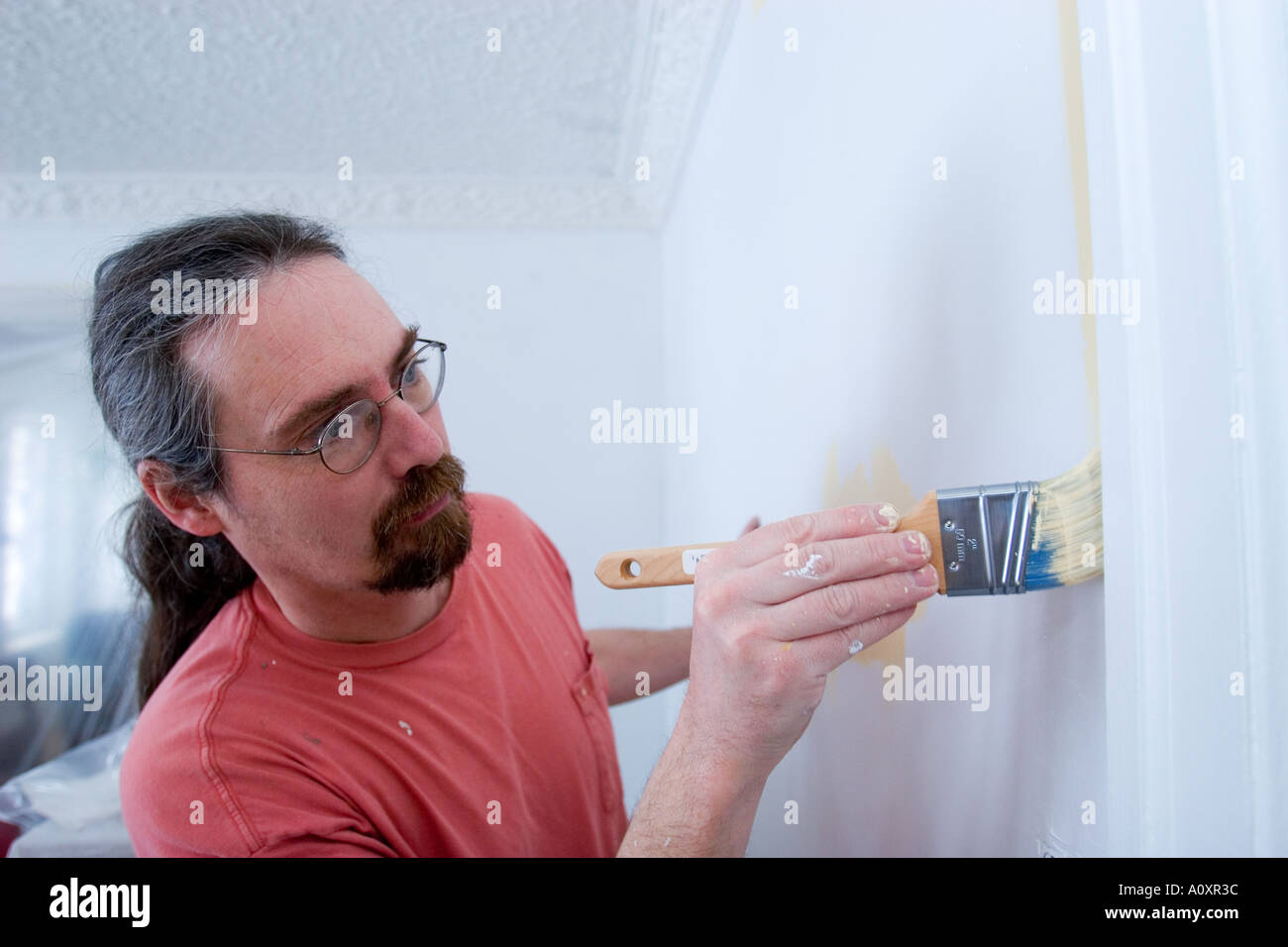 House Painter - Stock Image