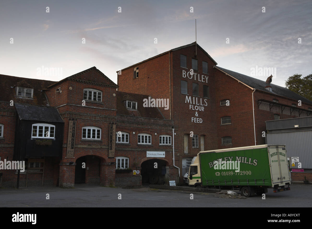 Botley Mill - Stock Image