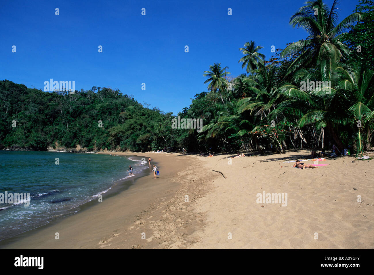 Englishman s Bay Tobago West Indies Caribbean Central America - Stock Image
